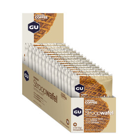 GU Energy StroopWafel Box Caramel Coffee 16 x 30g